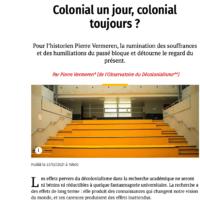 Colonial un jour, colonial toujours ?